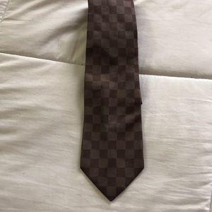 Louis Vuitton Damier Classique Tie